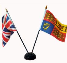 UNION JACK / ROYAL STANDARD - Friendship Table Flags